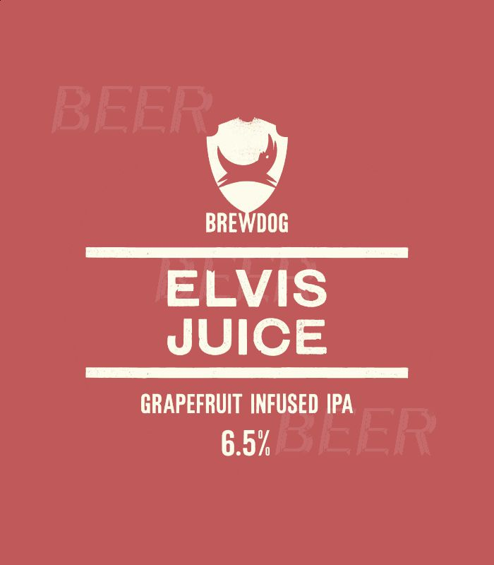 Брюдог Элвис Джус/Brewdog Elvis Juice 20л.ПЭТ