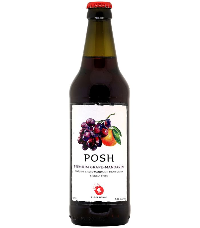 Фонте ПОШ Виноград-Мандарин/Fonte Posh Grape-Mandarin 0,45л.*20