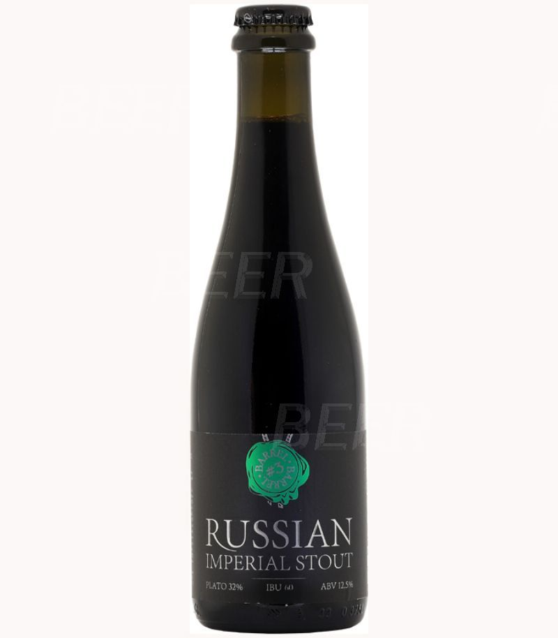 Коникс Русский Имперский Стаут Баррель #3/Konix Russian Imperial Stout Barrel #3 0,375л.*12