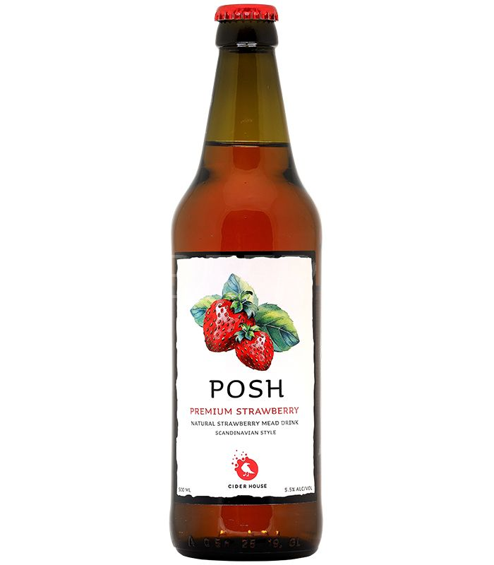 Фонте ПОШ Клубника/Fonte POSH Strawberry 0,45л.*20