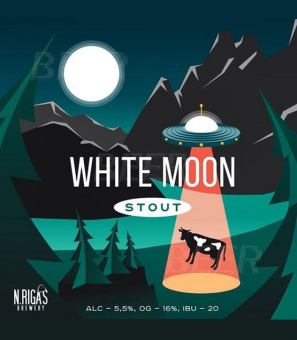 Нью Ригас Вайт Мун Стаут/N.Rigas White Moon Stout 30л.ПЭТ